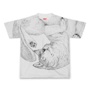 オオカミTシャツ