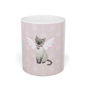 ネコ天使マグカップ