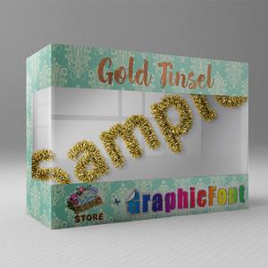 【Gold Tinsel】