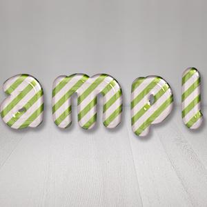 【Candy Cane(Green Stripe)】