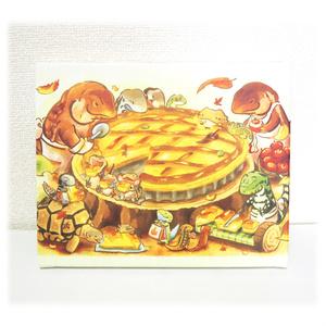 キャンバス「テグーおじさんのアップルパイ」