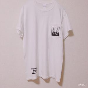 ボカロ ポケット付Tシャツ