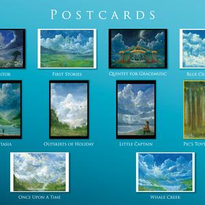 ポストカード10枚セット / Postcard set - 10 pieces