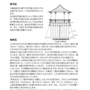 中国式城門をつくろう