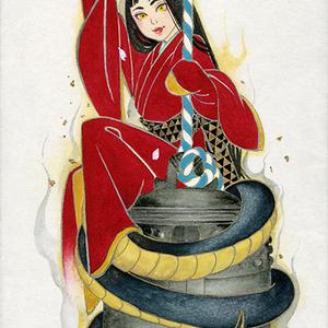 【原画販売】清姫