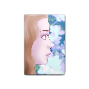 缶バッジ 紫陽花