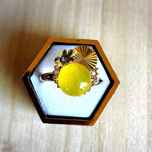 【山姥切国広イメージ】仄明の黄色(指輪)