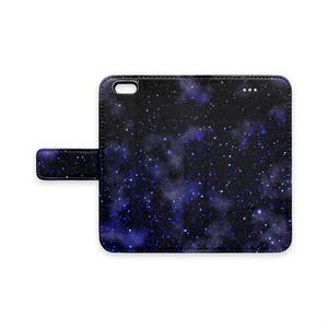 星の海 手帳型iPhoneケース - iPhone6