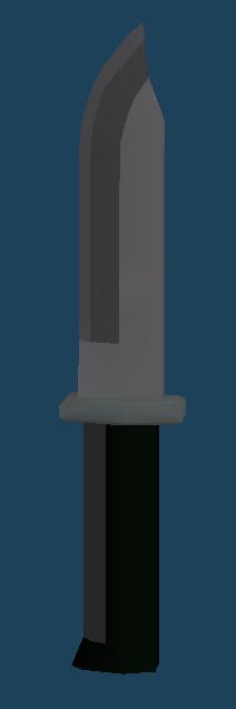 ナイフfbx 3Dモデル