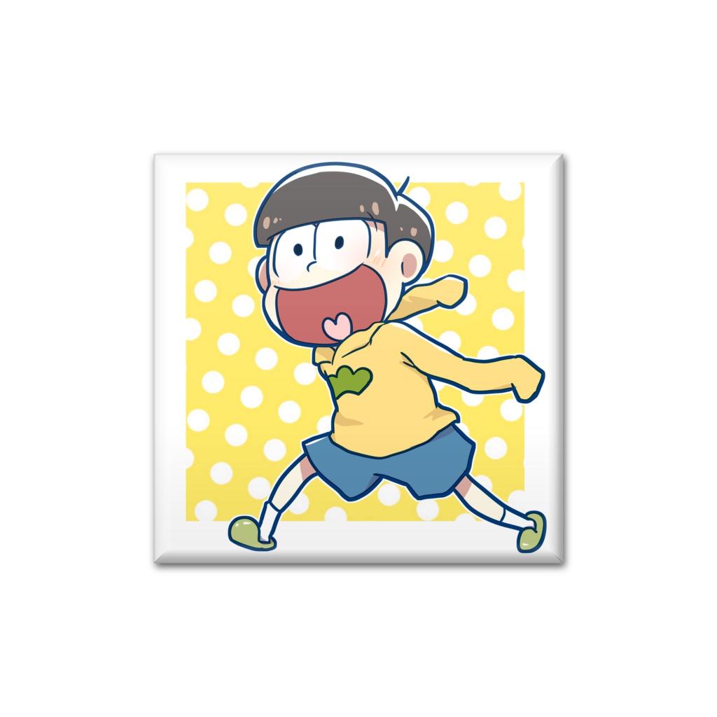十四松缶バッチ